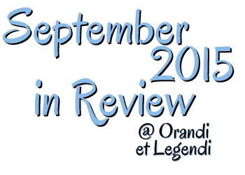 September 2015 in Review