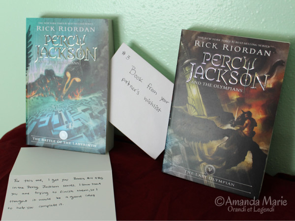 a book (or two) from my wishlist