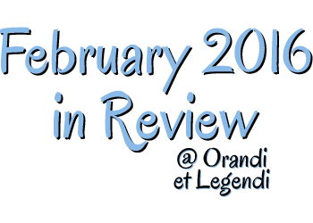February 2016 in Review