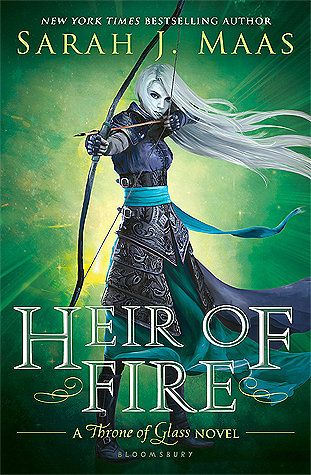 Oh. My. Goodness! Sheer AMAZING-NESS here! – Heir of Fire {Review}