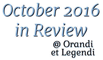October 2016 in Review